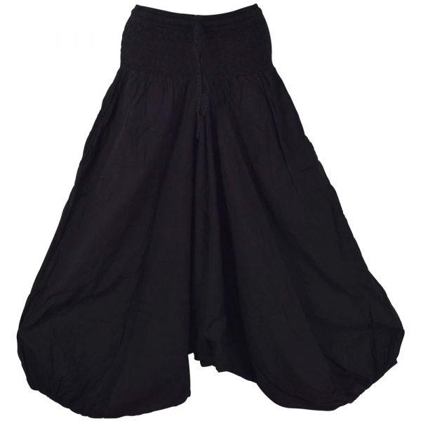 Sarouel Femme Masina Coton Noir