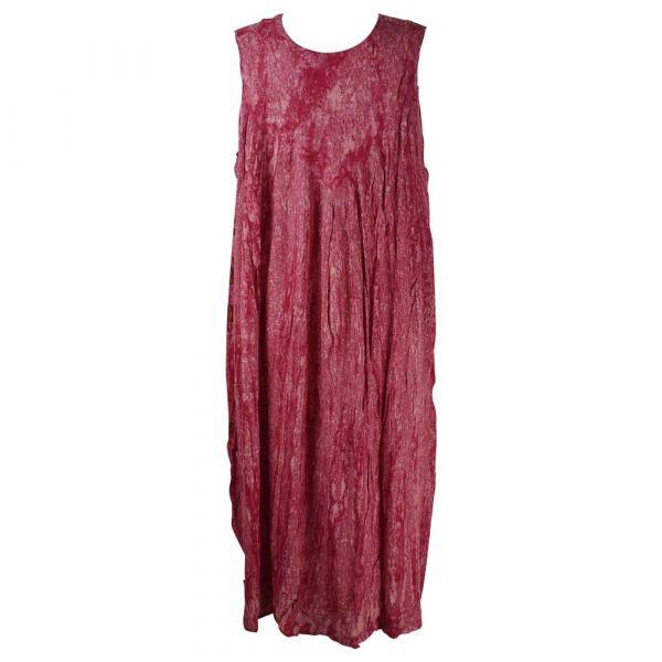 Robe Longue Grande Taille Banki Batik Rose