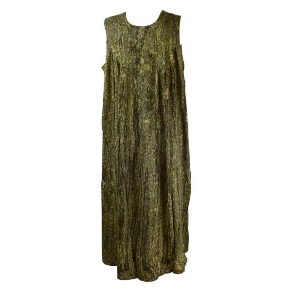 Robe Longue Grande Taille Banki Batik Noir
