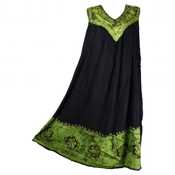Robe Longue Grande Taille Duburi Batik Vert