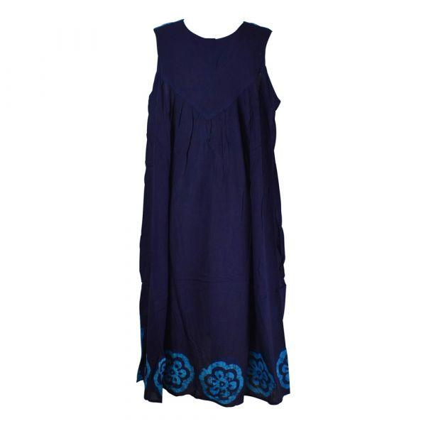 Robe Longue Grande Taille Duburi Turquoise