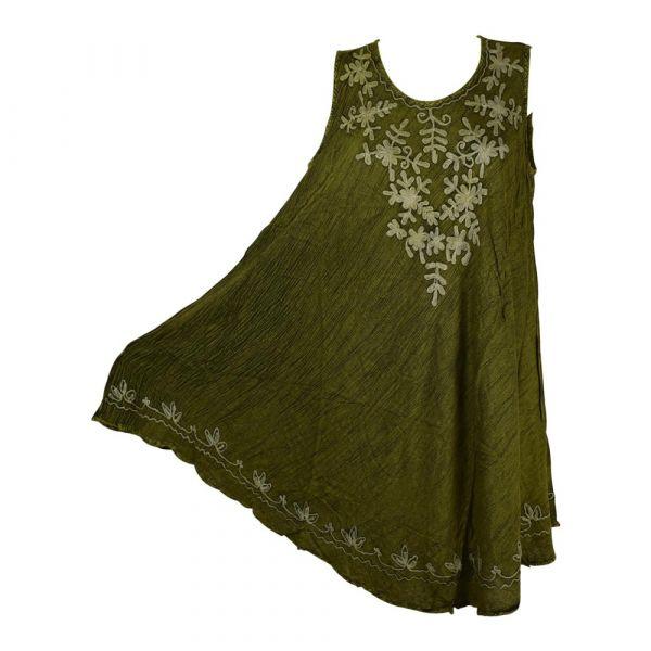 Robe Grande Taille Évasée Chenda